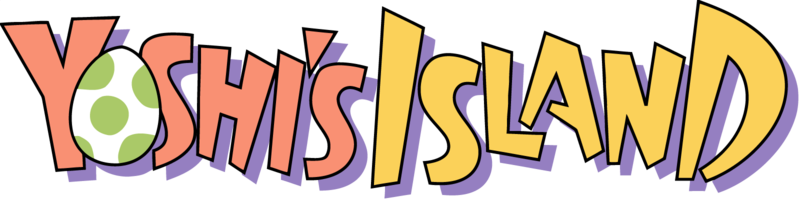 Image result for yoshi's island logo